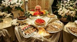 Elegant Dessert Set Up