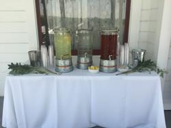 Wedding Beverage Station