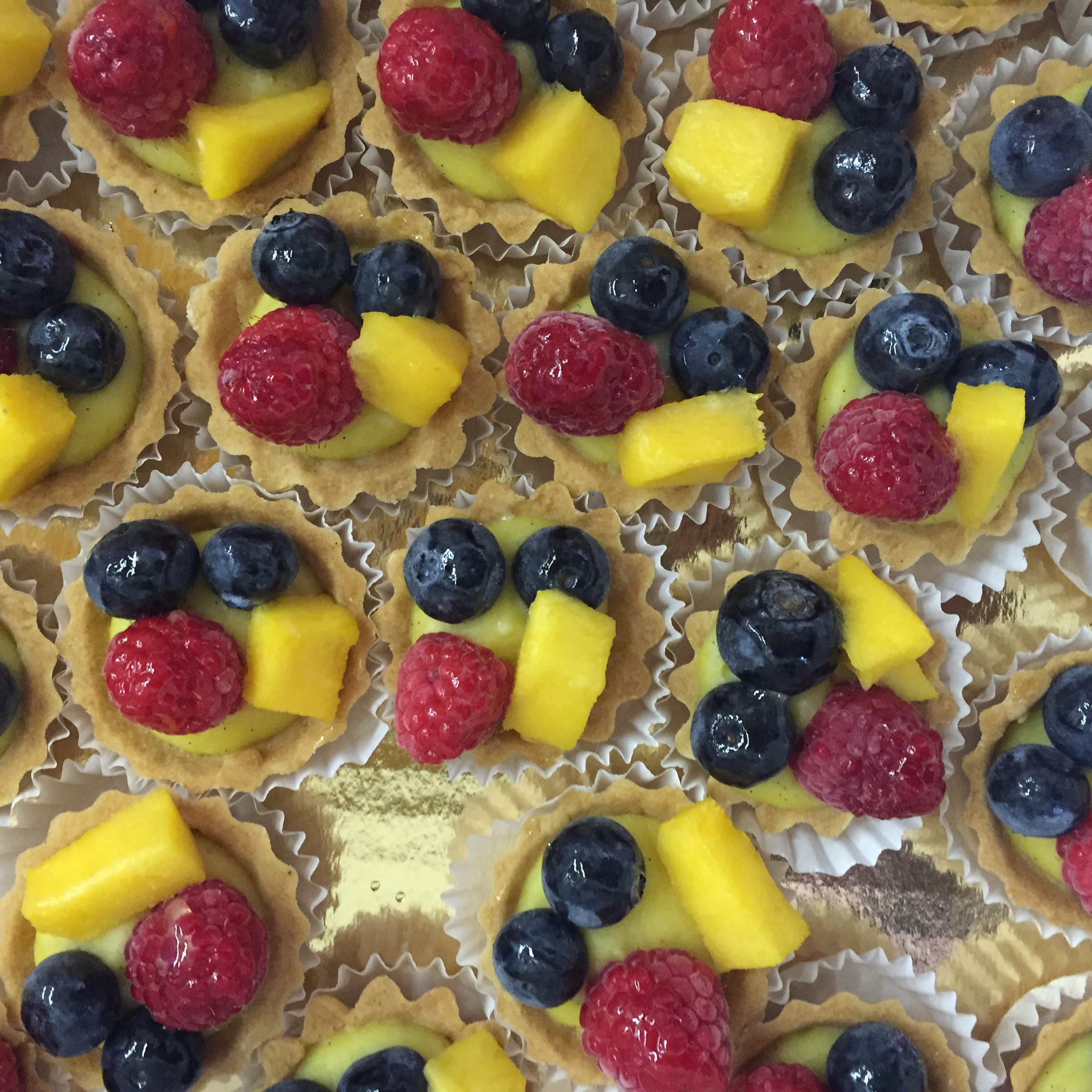 Mini Fruit Tarts