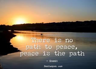 Choosing the Peaceful Path