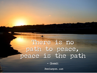 Choosing the Peaceful Path