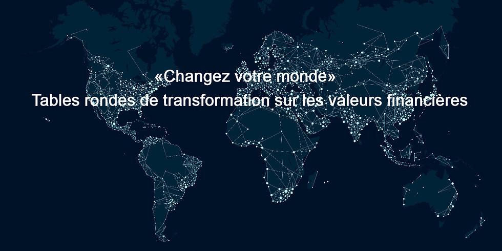 Atelier «Changez votre monde» Tabellen zur Transformation der Finanzmärkte (B1)