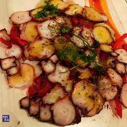 Octopus Carpaccio