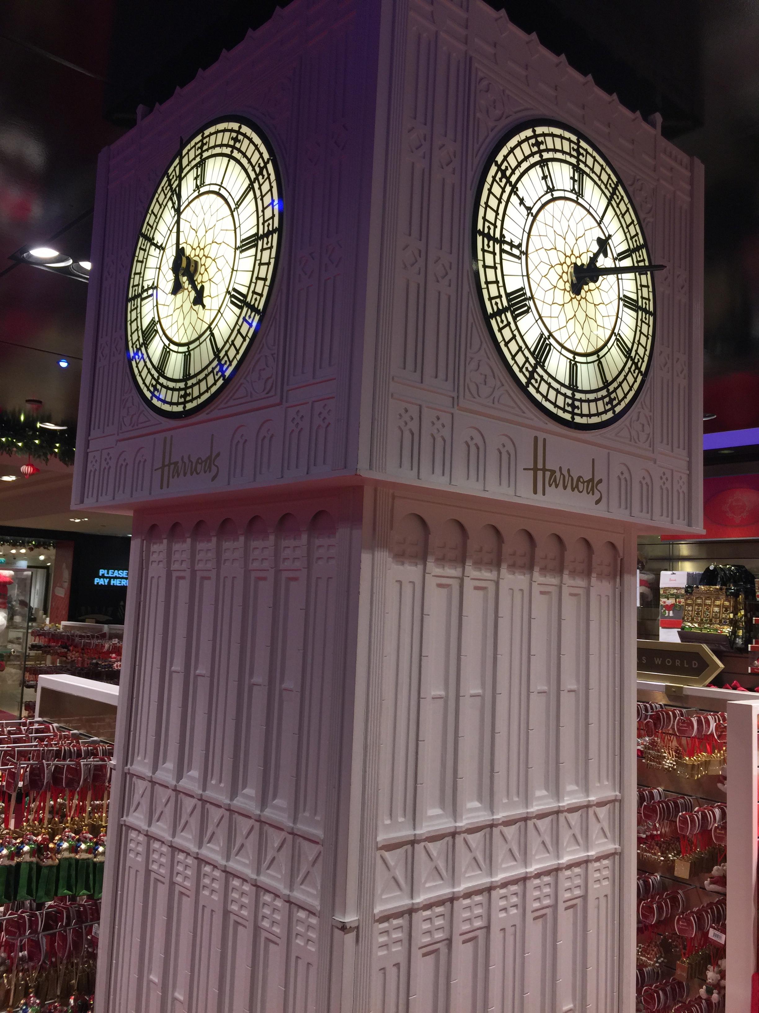Harrods Clock