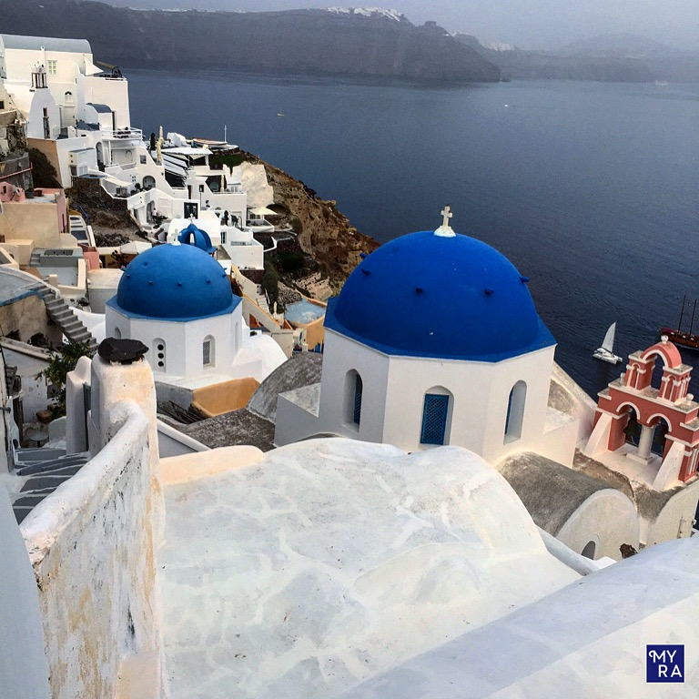 Greek blue - my favorite color