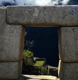 Incan window view