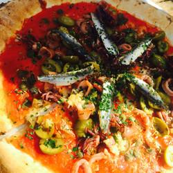 Calamaretti Pizza