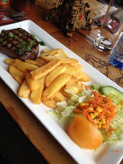 Rump Steak and Fries