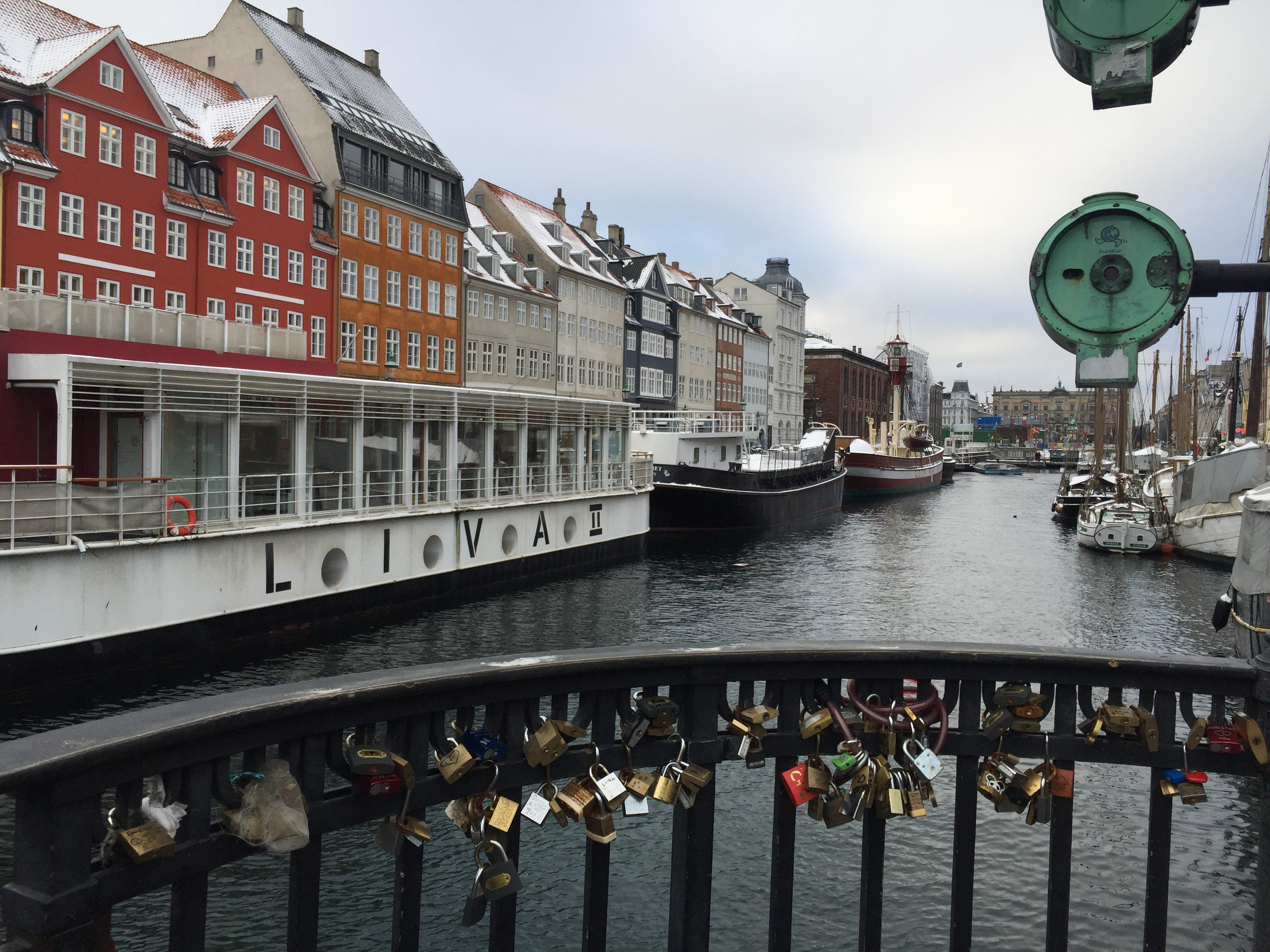 Love locks in Denmark