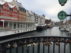Love locks in Denmark