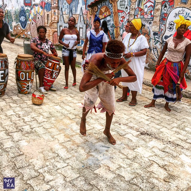 Afro Cuban dance performance
