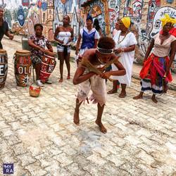 Afro Cuban dance performance