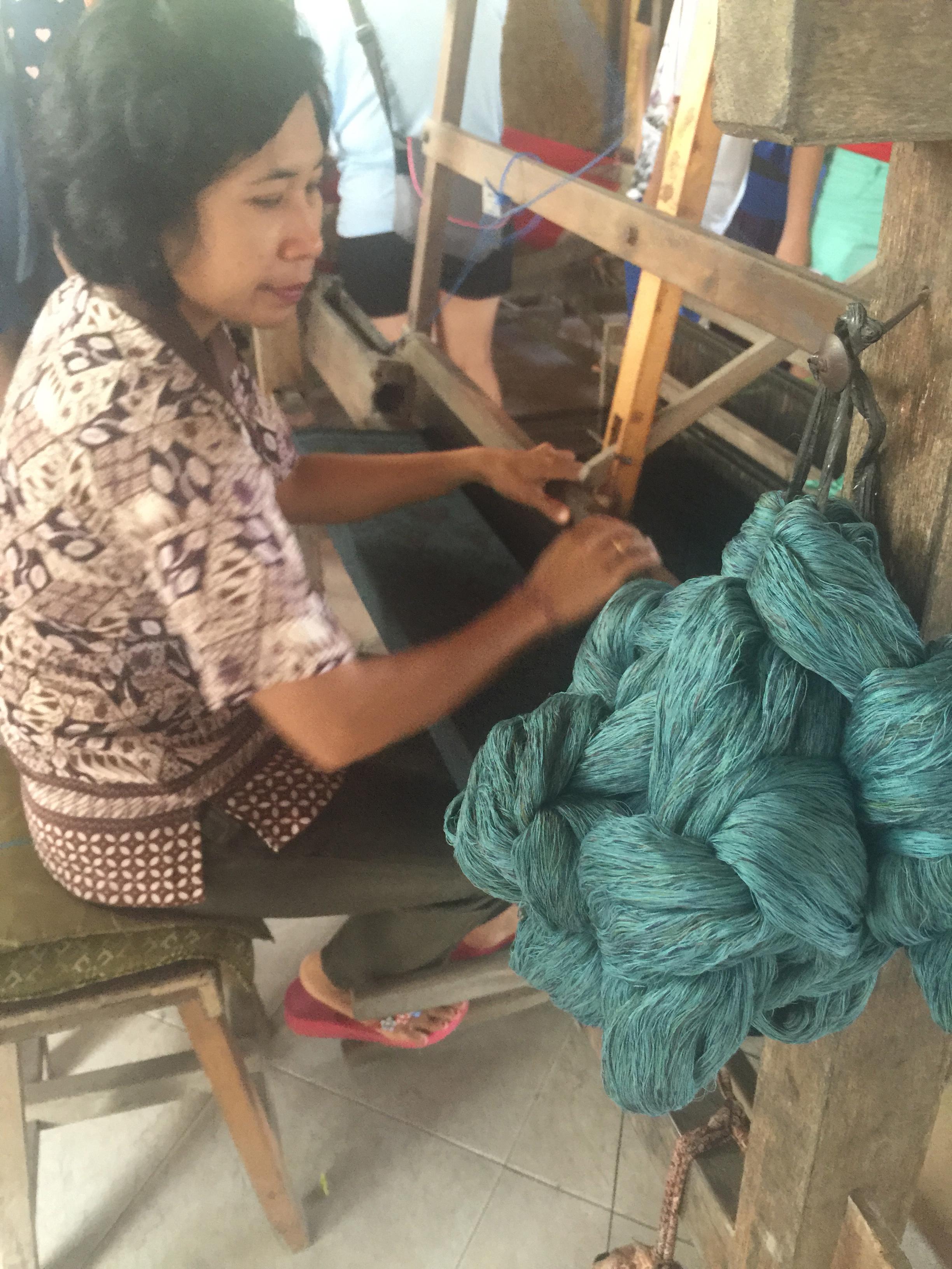 Batik tapestry