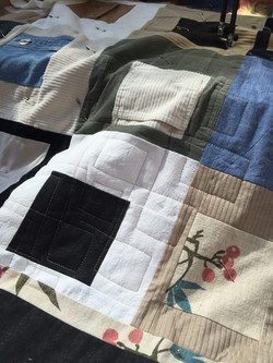 cardall memory quilt detail