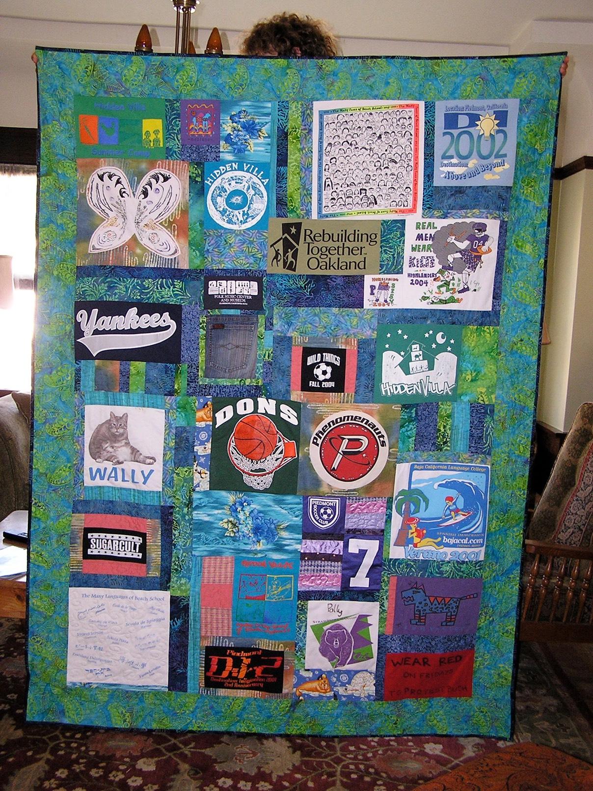custom memory quilt