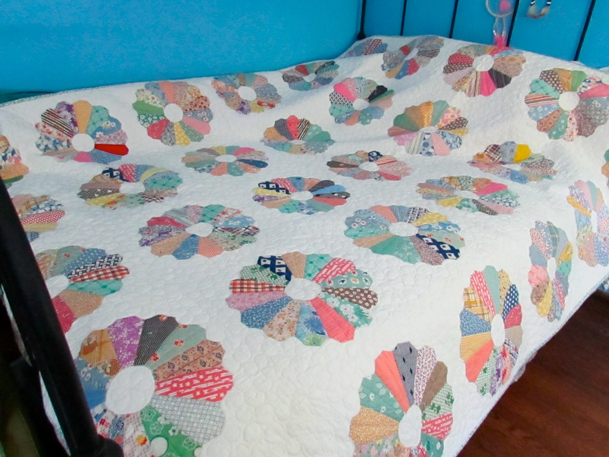 Antique Dresden Quilt