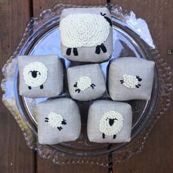 sheep pincushions