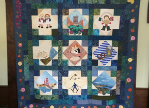 The Making of a Memory Quilt