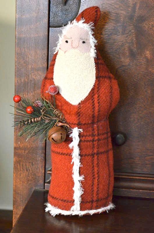 woolen santa