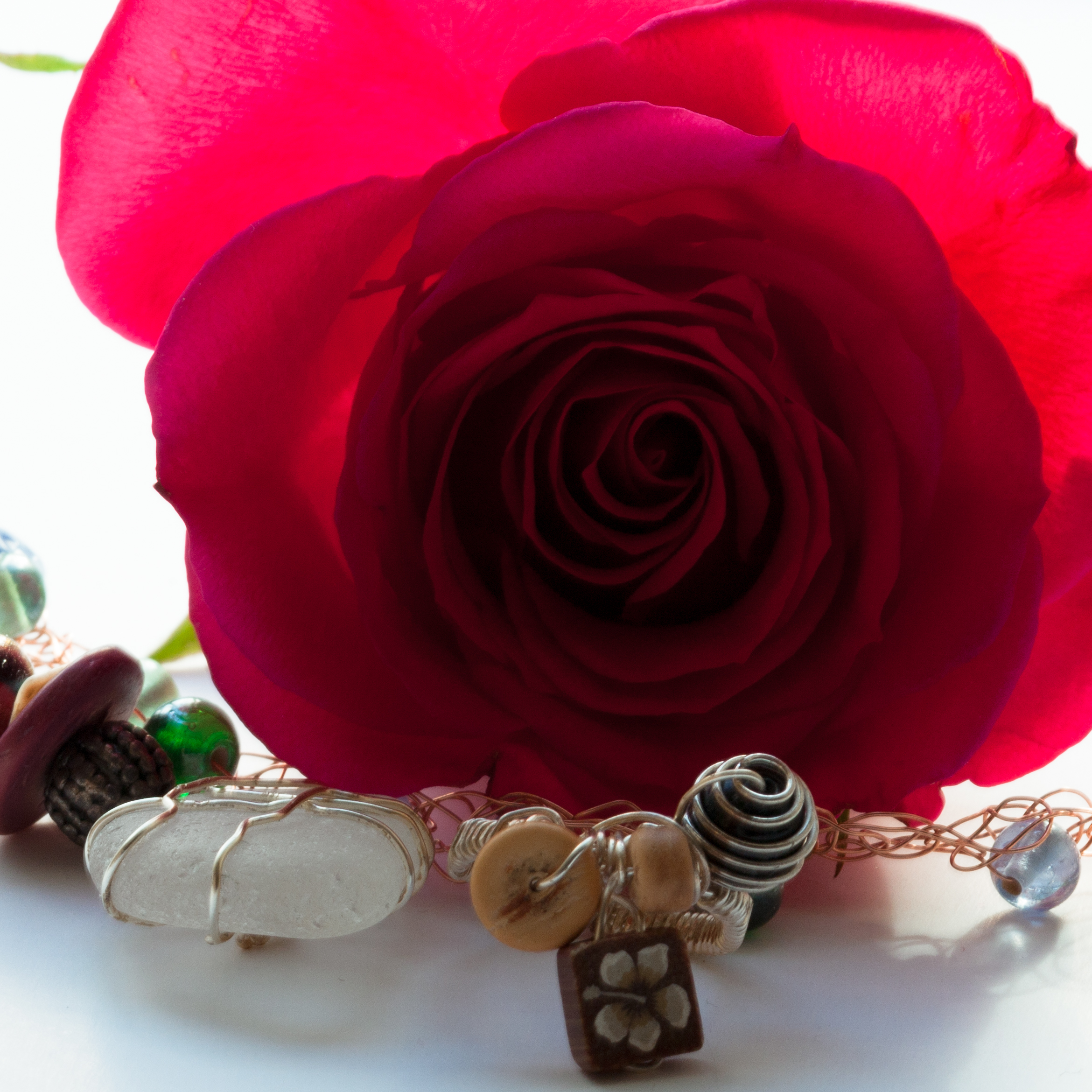 ROSE 3 with Seaglass
