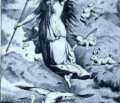 The goddess of Easter?