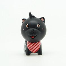 【泰雅渡假村】黑狗鑰匙圈