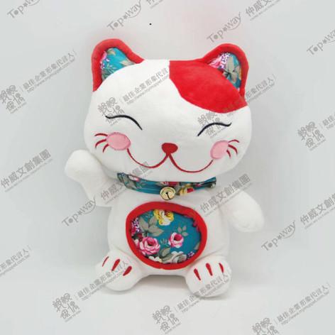招財貓(紅)