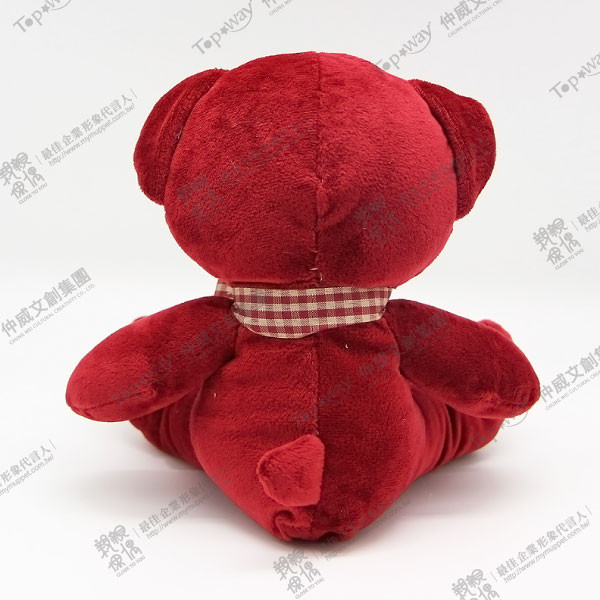 緞帶熊(紅)
