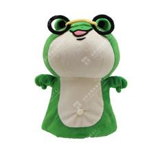 臺南市立圖書館-蛙寶手偶客製