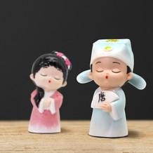 古裝人物公仔【生活小物系列】