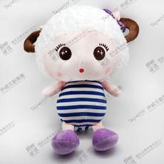 Sheep Girl in Blue