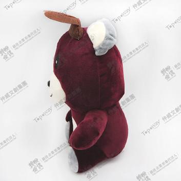 兔耳熊(紅)