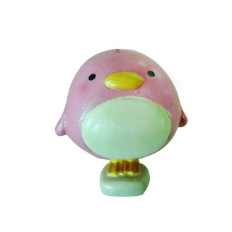 客製化粉色小企鵝公仔製作