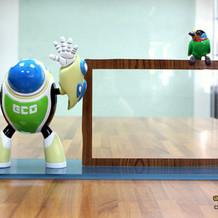 【經濟部水利署】艾可機器人 相框