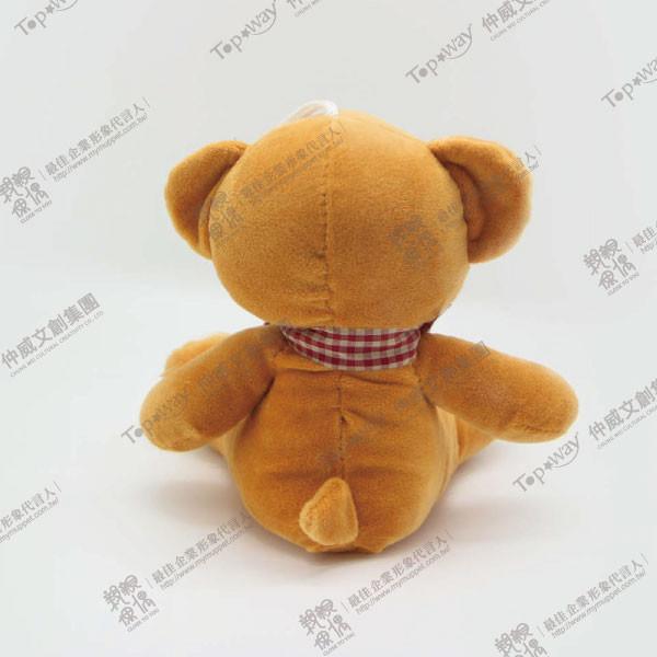 緞帶熊(褐)