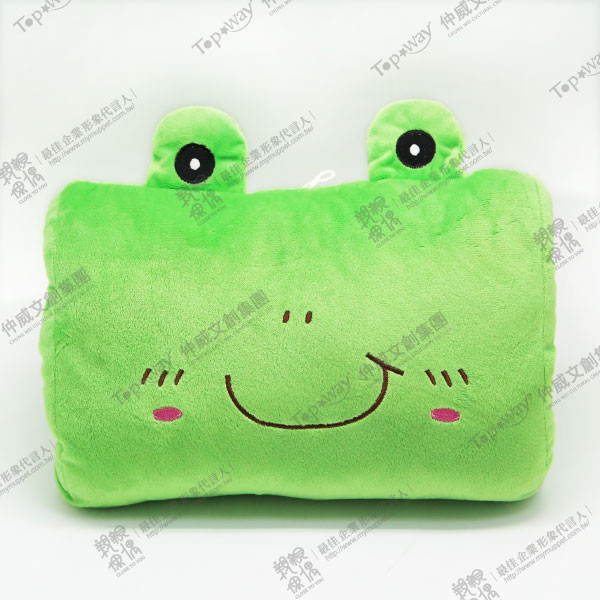 小熊青蛙午睡枕