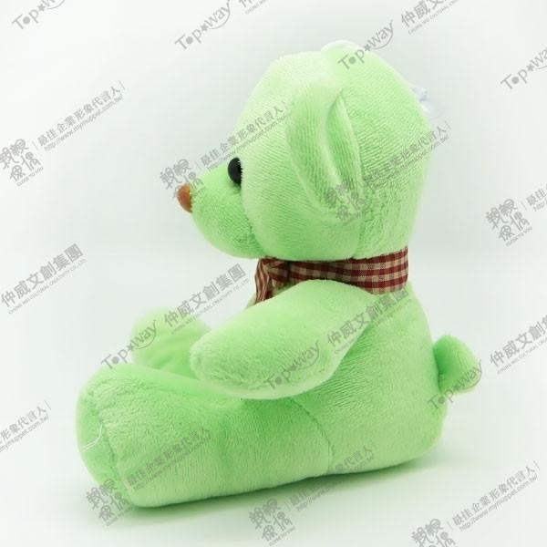 緞帶熊(綠)