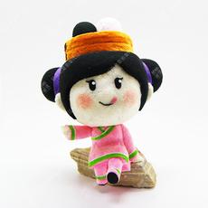 Intestine powder mascot