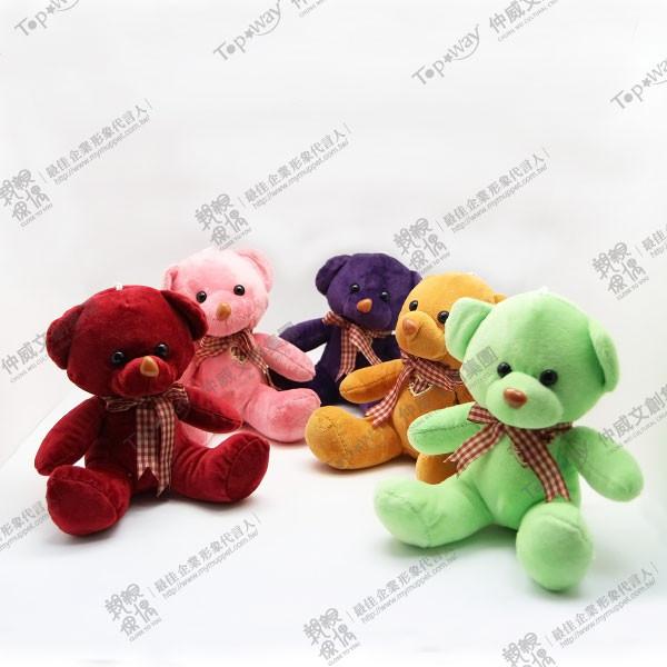 緞帶熊(紫)