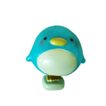 客製化藍色小企鵝公仔製作