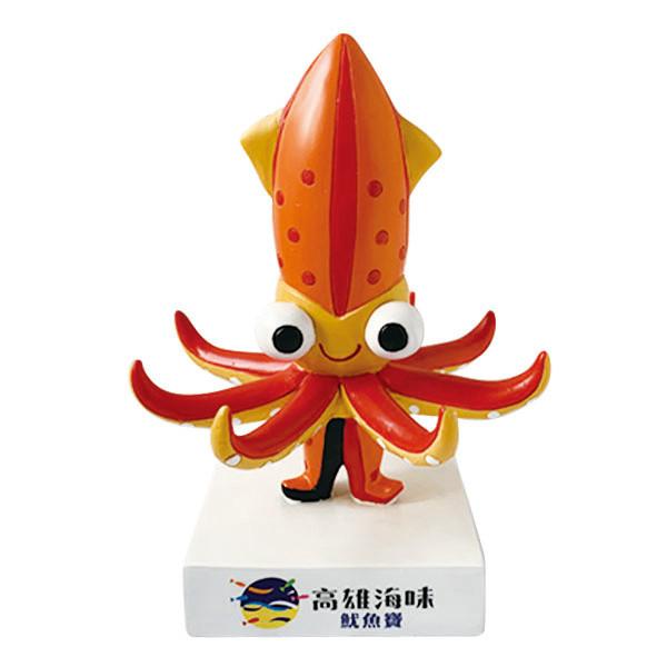 客製化公仔-海洋五寶-魷魚寶
