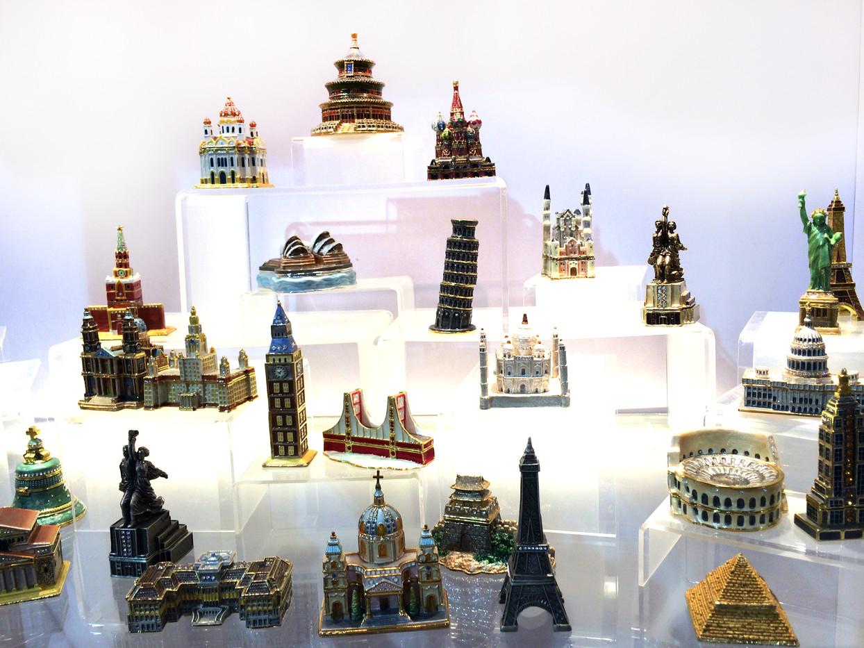吉祥物設計-風格建築模型