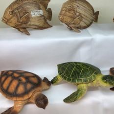 烏龜與魚【仿真系列】
