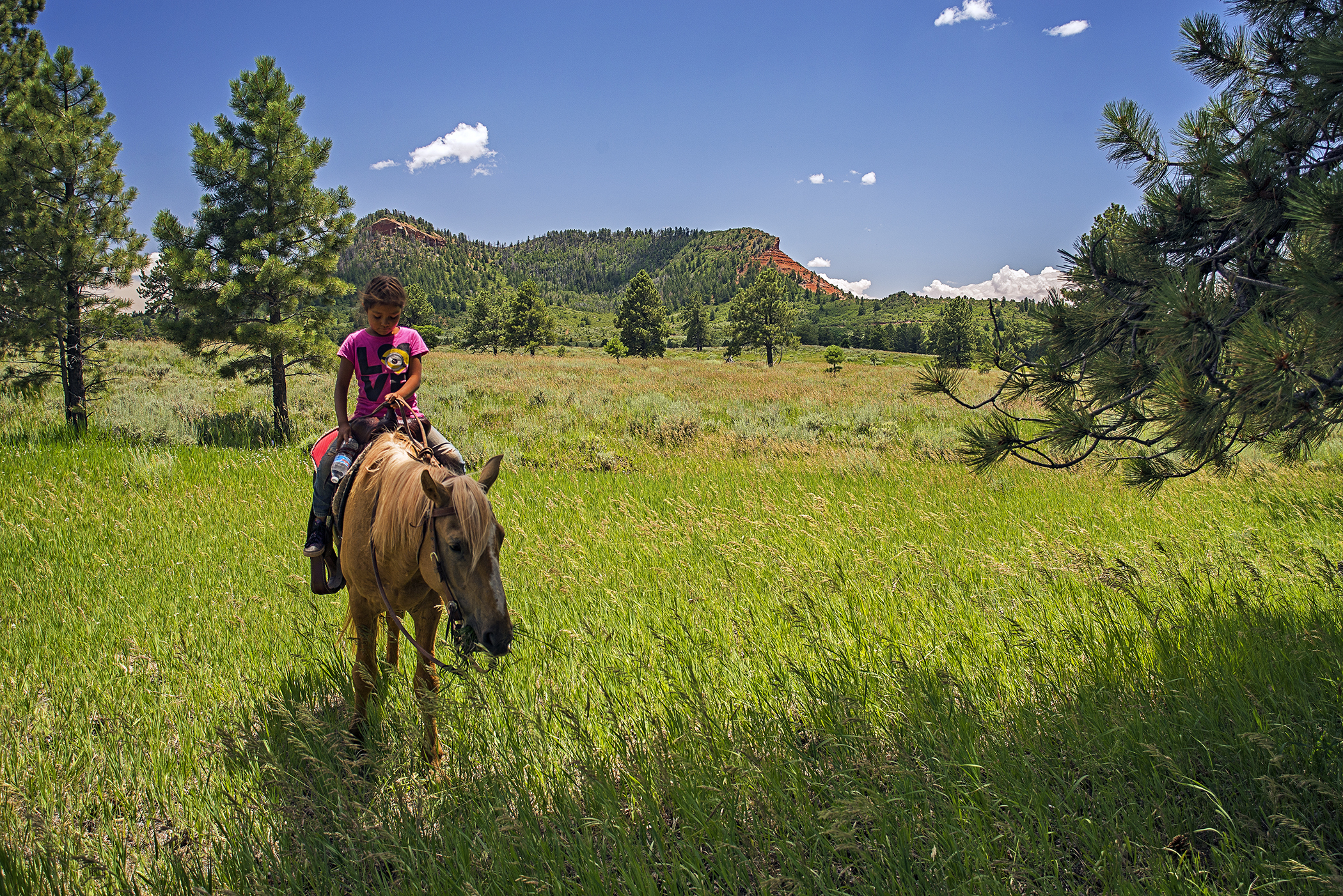 Bears Ears advocacy - young rider