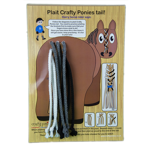 Crafty Ponies Plaiting Tail