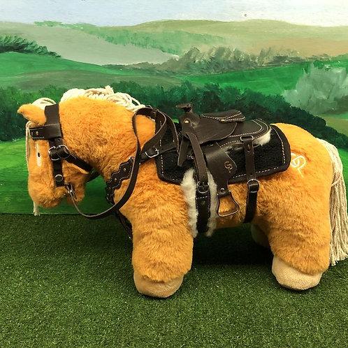 Crafty Ponies Western Leather Tack Set