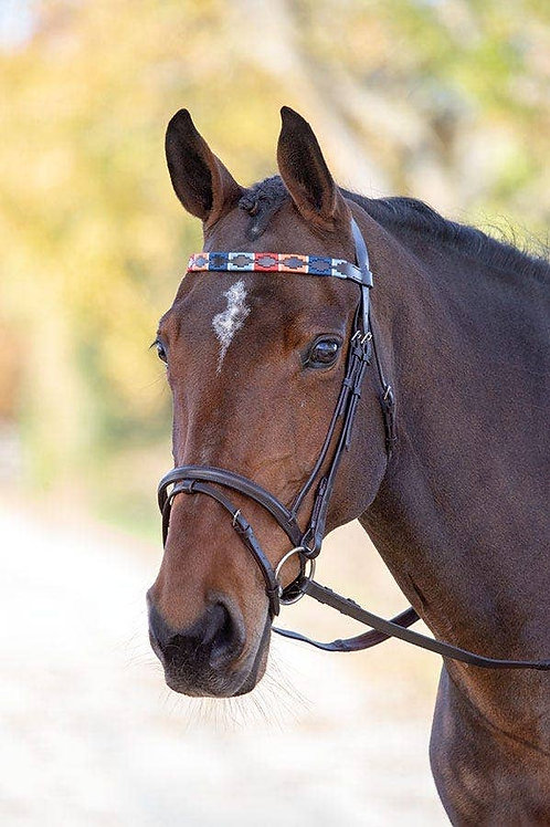 Shires Blenheim Leather Polo Browband
