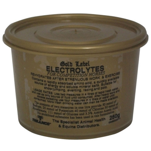Gold Label Electrolytes