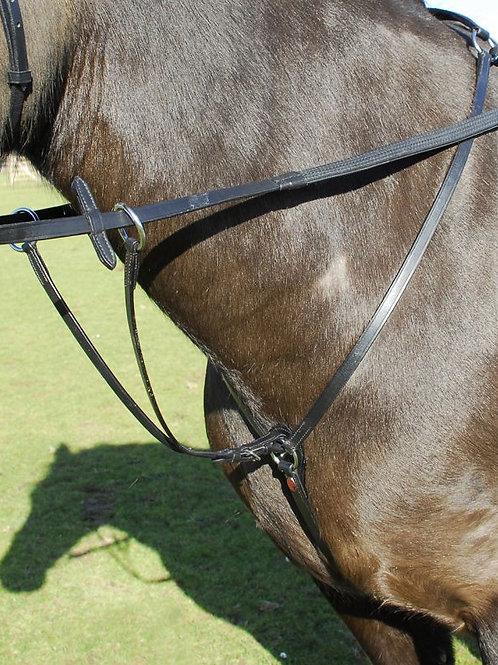 Windsor leather breastplate