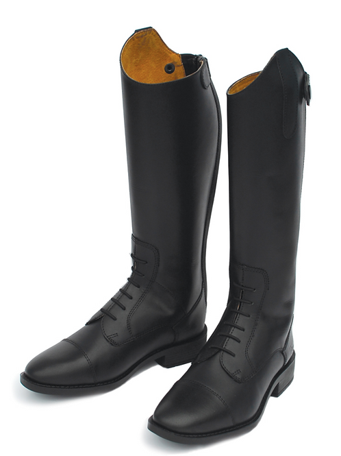 Berlin Children's Long Leather Riding Boot